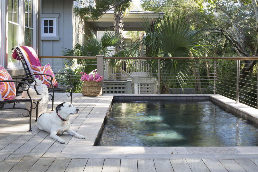 Pool Deck of Kiawah Home