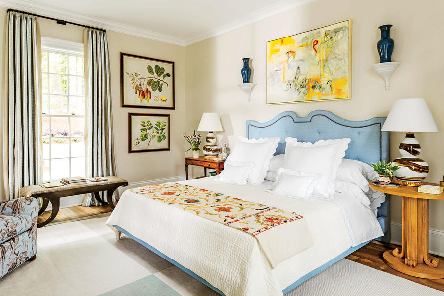 Master Of Style Beautiful Blue Bedrooms Southern Living