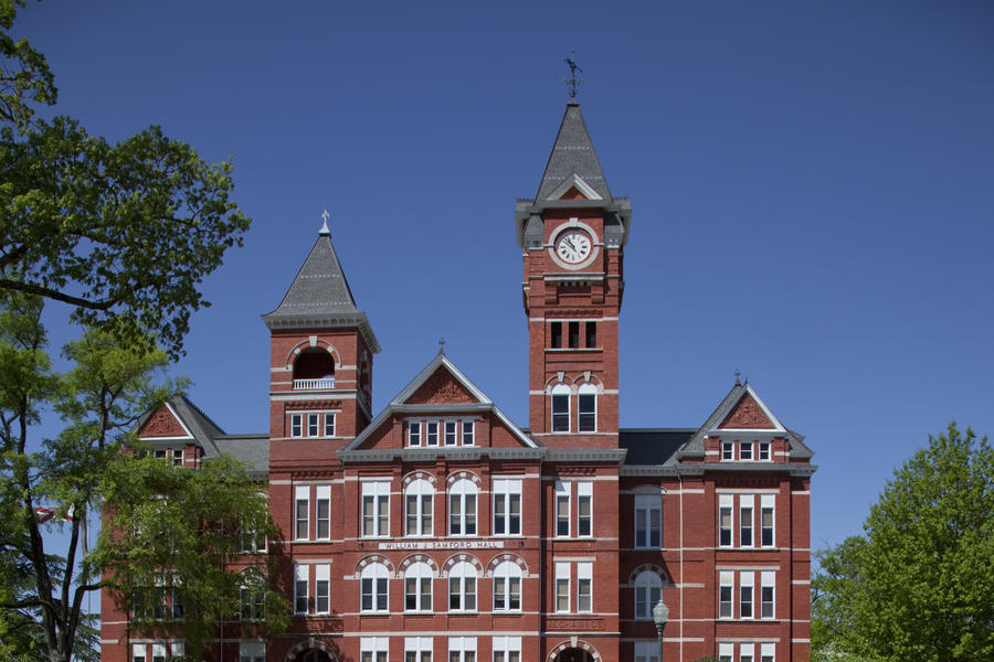 Samford Hall on the Campus of Auburn University