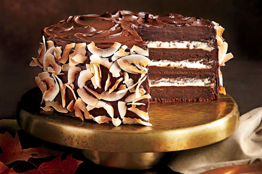 Chocolate Coconut Layer Cake Southern Living