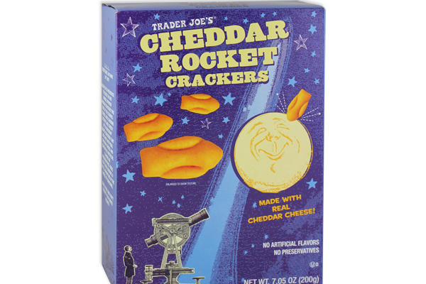 Cheddar Rocket Crackers