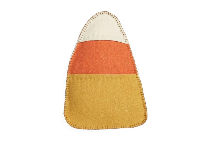 Candy Corn Fall Throw Pillow