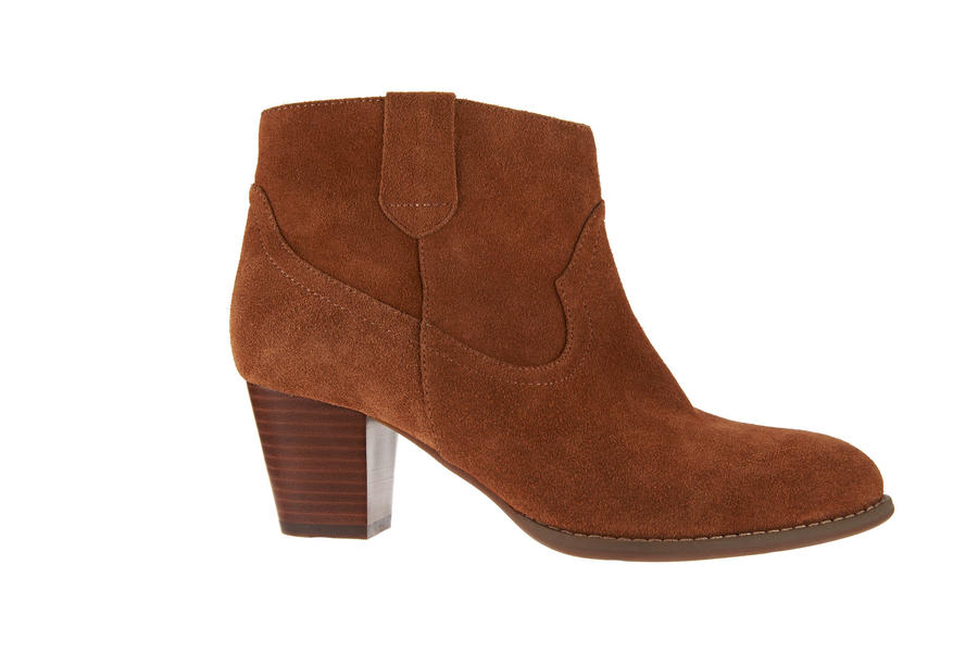 Vionic Leather Ankle Boots