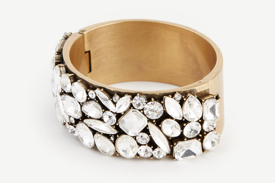 Scattered Crystal Cuff