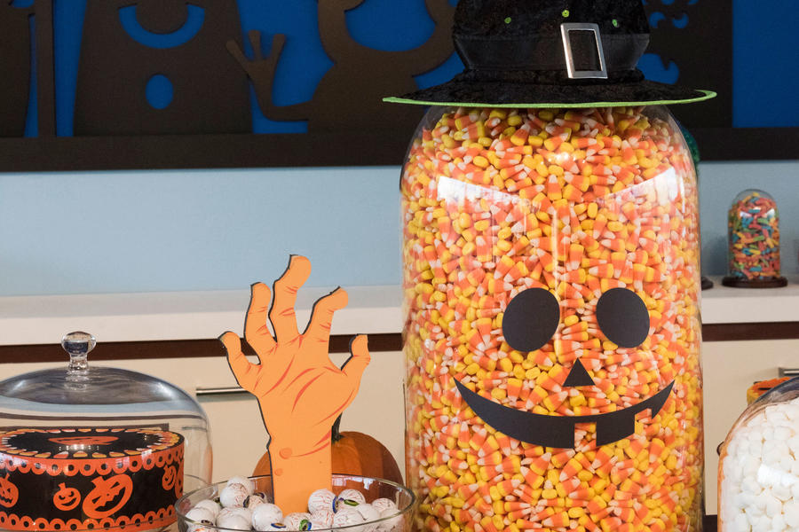 Whimsical Candy Halloween Party