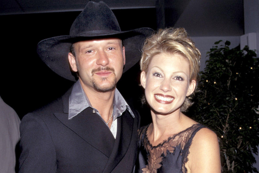 Tim McGraw and Faith Hill Wedding