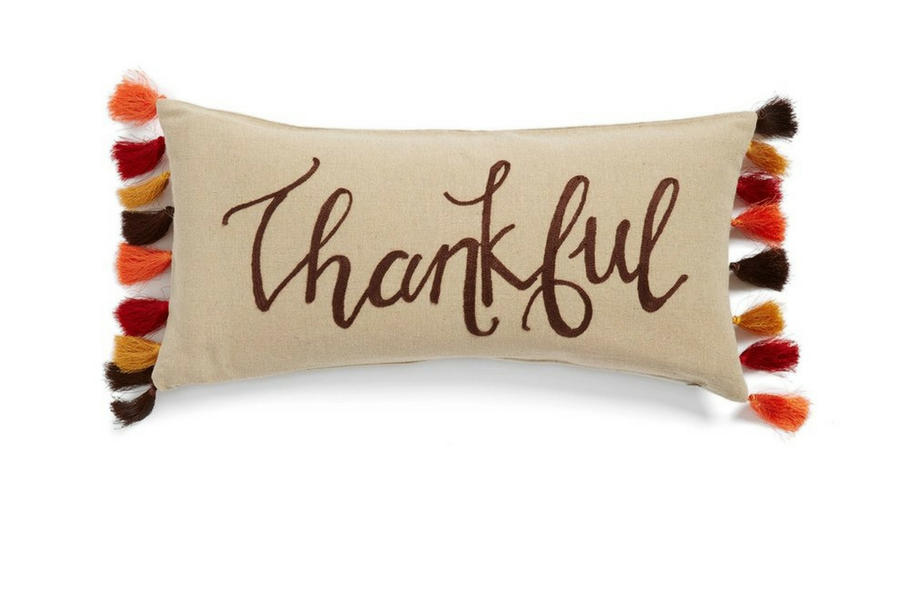 Thankful Fall Throw Pillow
