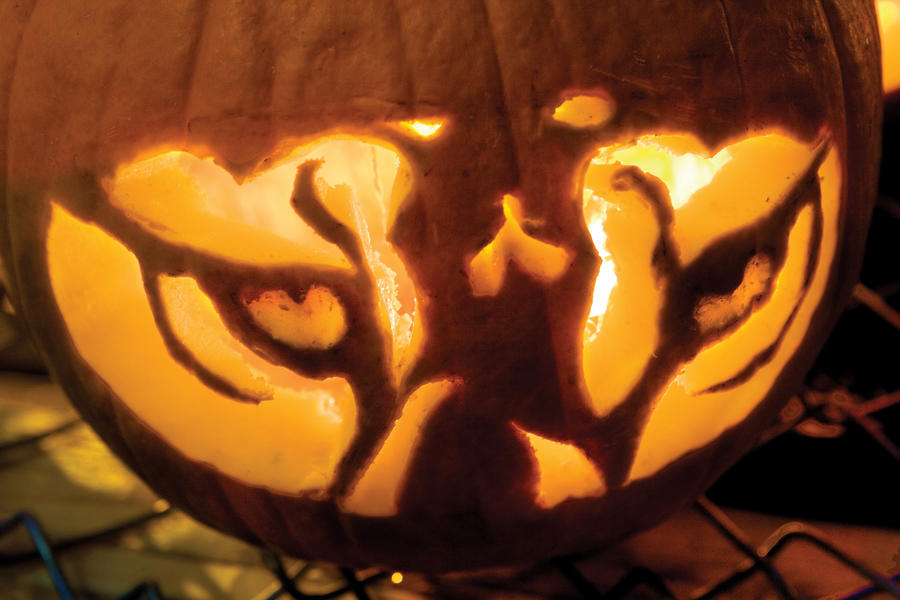 Tiger Eyes Halloween Pumpkins