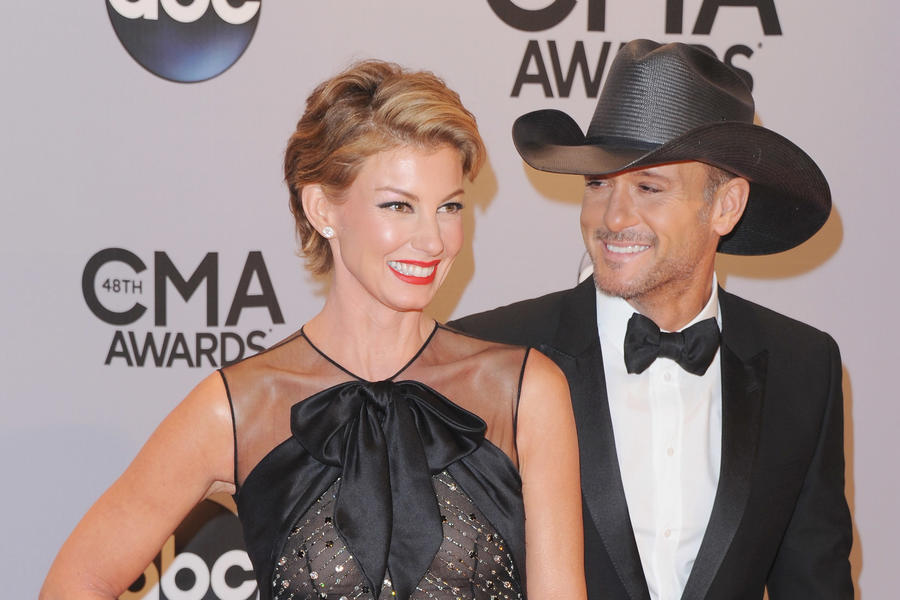 Faith Hill and Tim McGraw on the Red Carpet