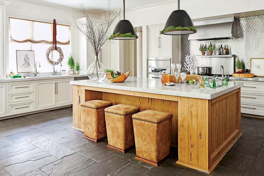 Christmas Kitchens Simple Christmas Kitchen