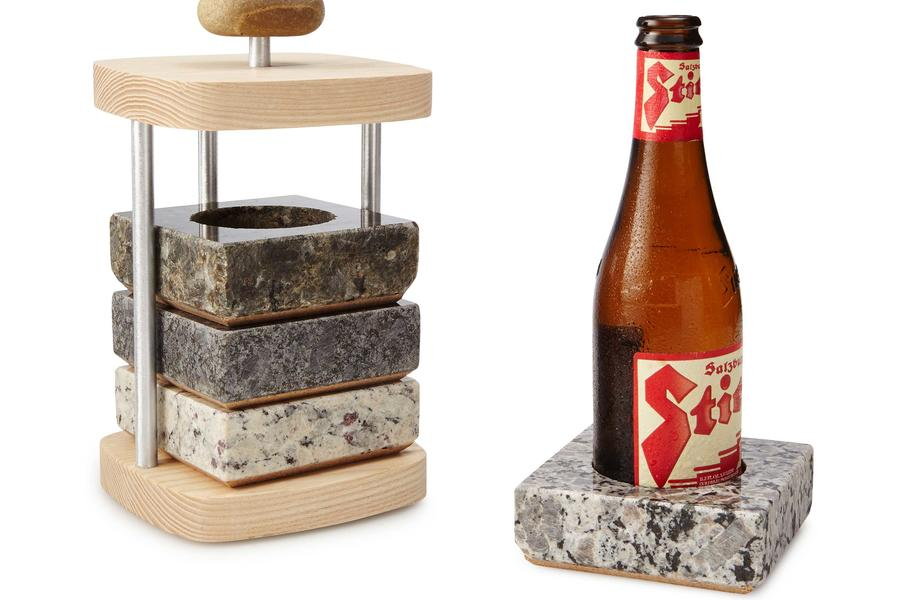 Beer chilling coaster set christmas gifts for him for Gardening gifts for him
