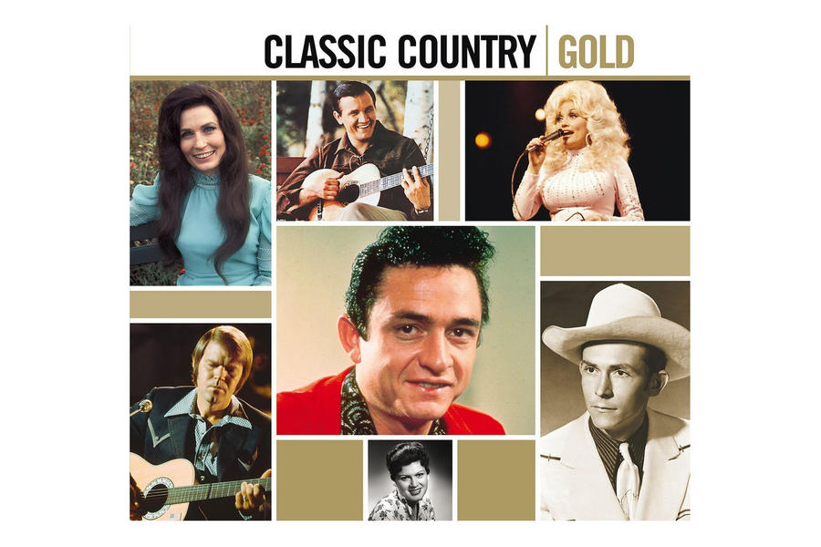 Classic Country Gold CD Set