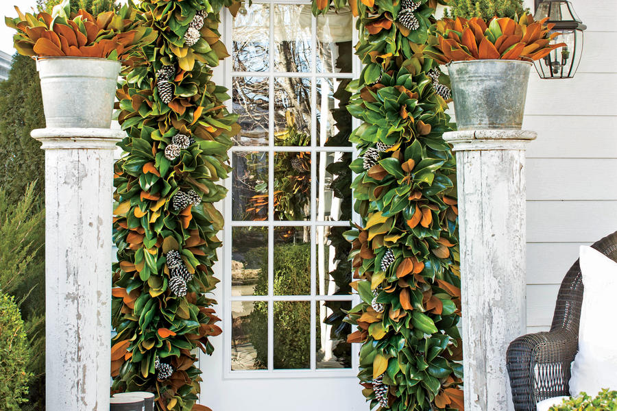 Frame the Front Door with Magnolia