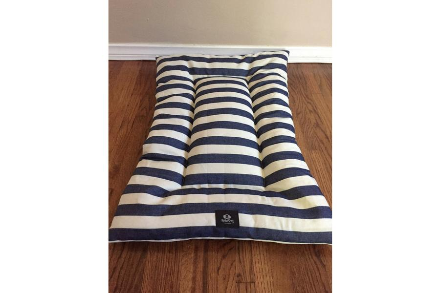 Gift Guide Pets Denim Doggie Bed