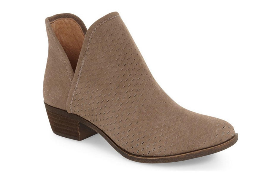 Lucky Perforated Bootie