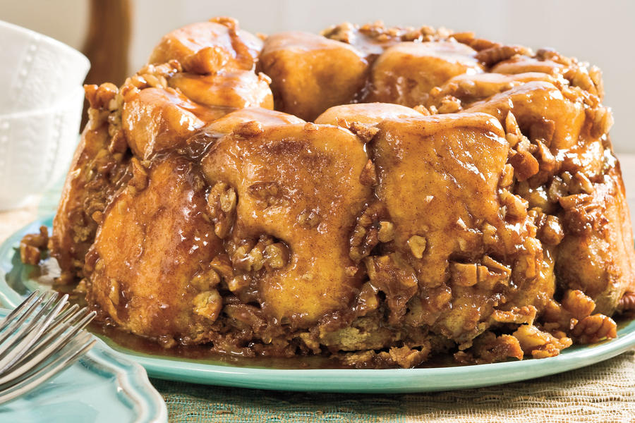 Brunch for a Crowd Praline Pull-Apart Bread