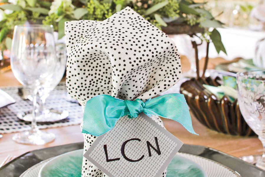 Playful Polka Dot Napkins