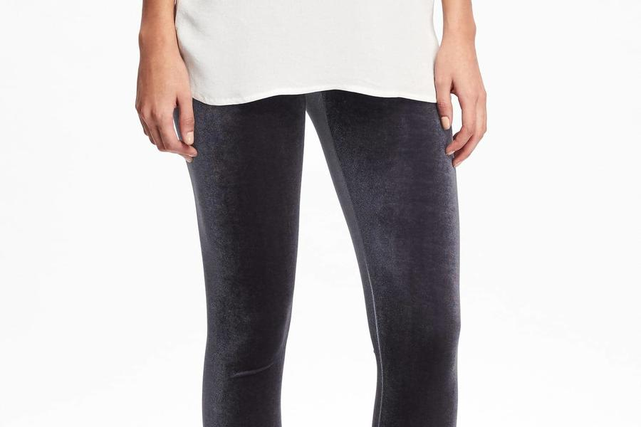 Thanksgiving Pants Velvet Leggings