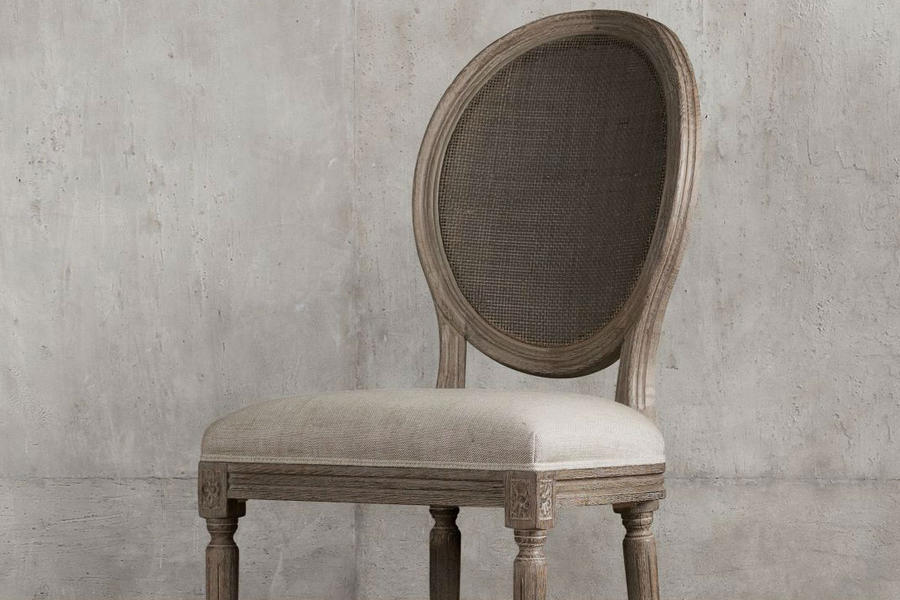 Caned-Back Dining Chairs