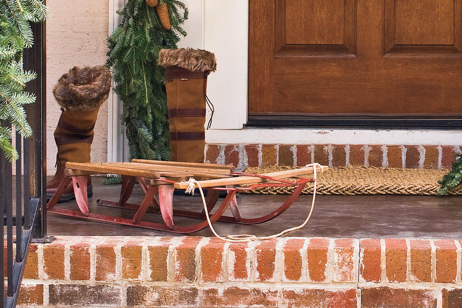 Old-fashioned Sled