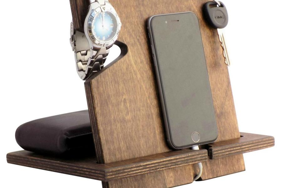 wooden iphone docking station wooden iphone station gifts for him 16526