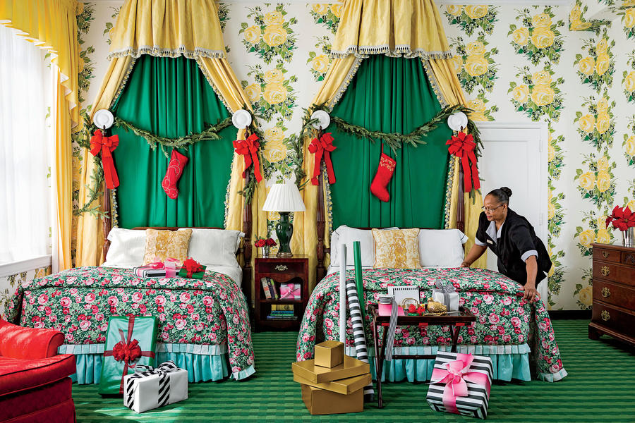 The Greenbrier at Christmas