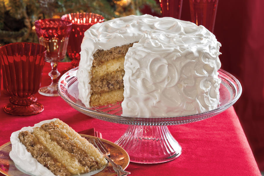 Christmas Cake Filling Ideas : Spice Cake with Citrus Filling - White Christmas Desserts ...