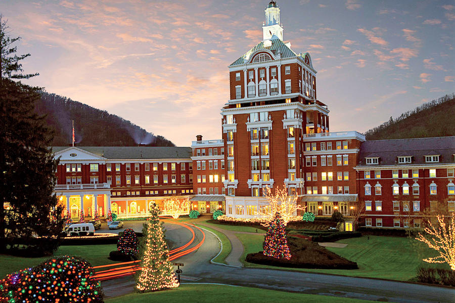 The Omni Homestead Resort at Christmas