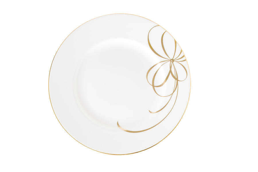 Belle Boulevard Gold Christmas China