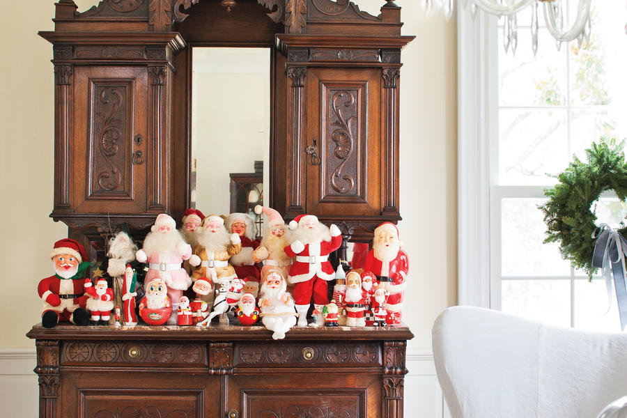 Vintage Christmas Decorations: Santa Collections