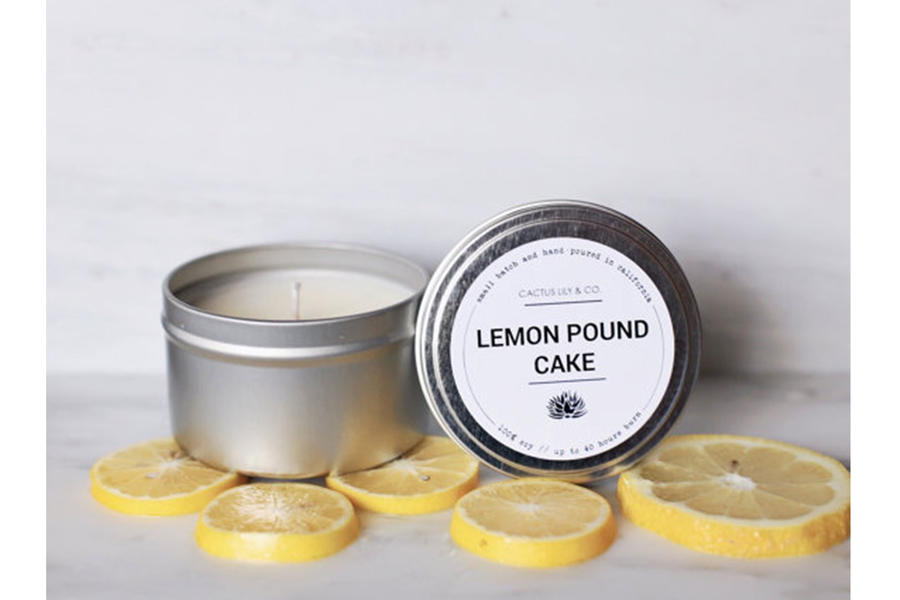 Lemon Pound Cake Candle