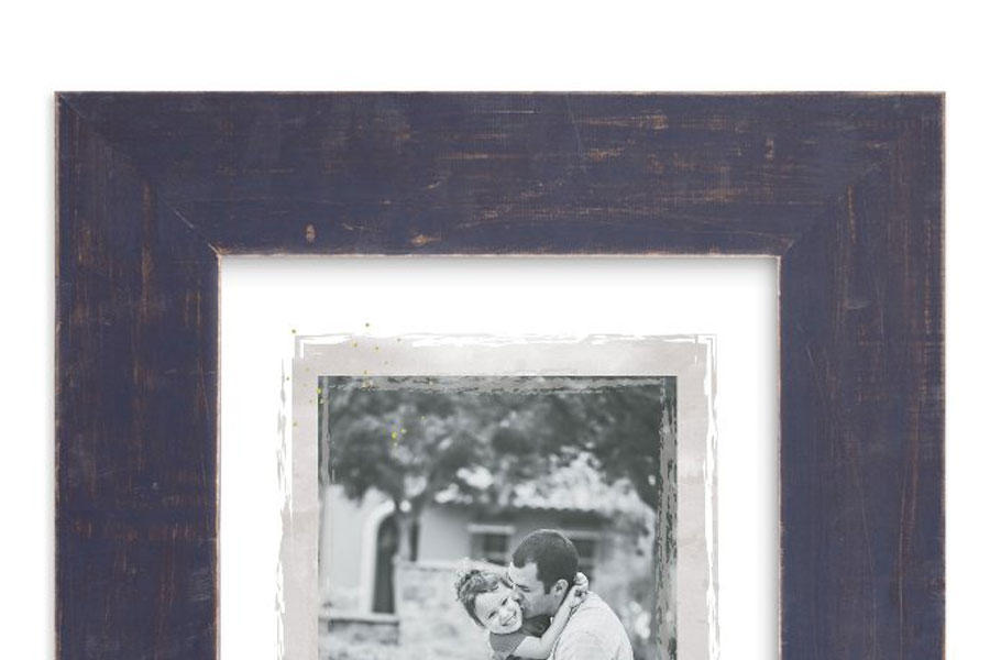 Framed Father-Daughter Photo