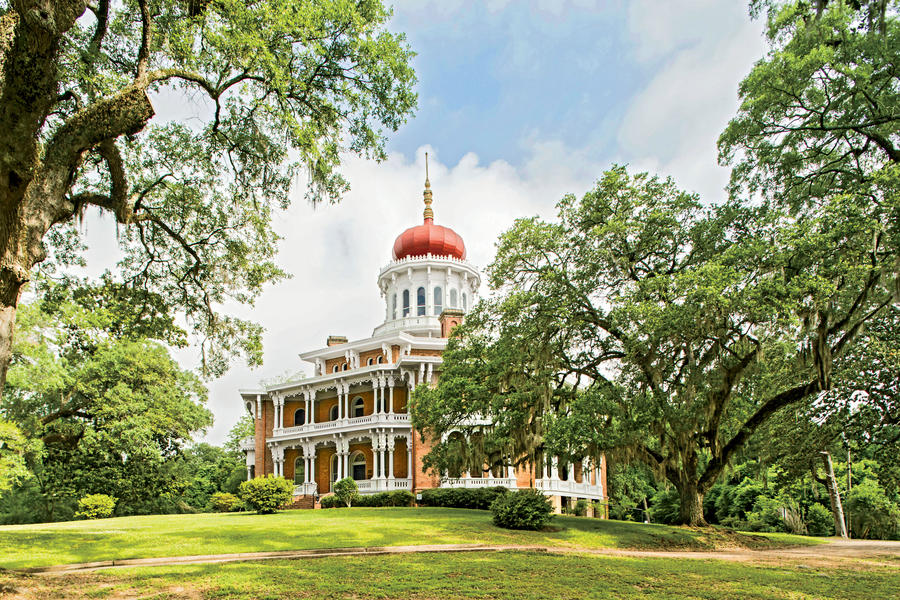 Natchez mississippi budget friendly vacation for Longwood house