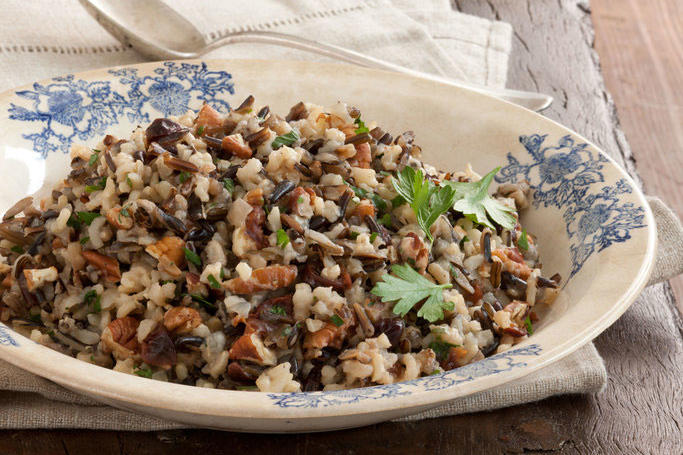 Slow-Cooker Wild Rice Pilaf