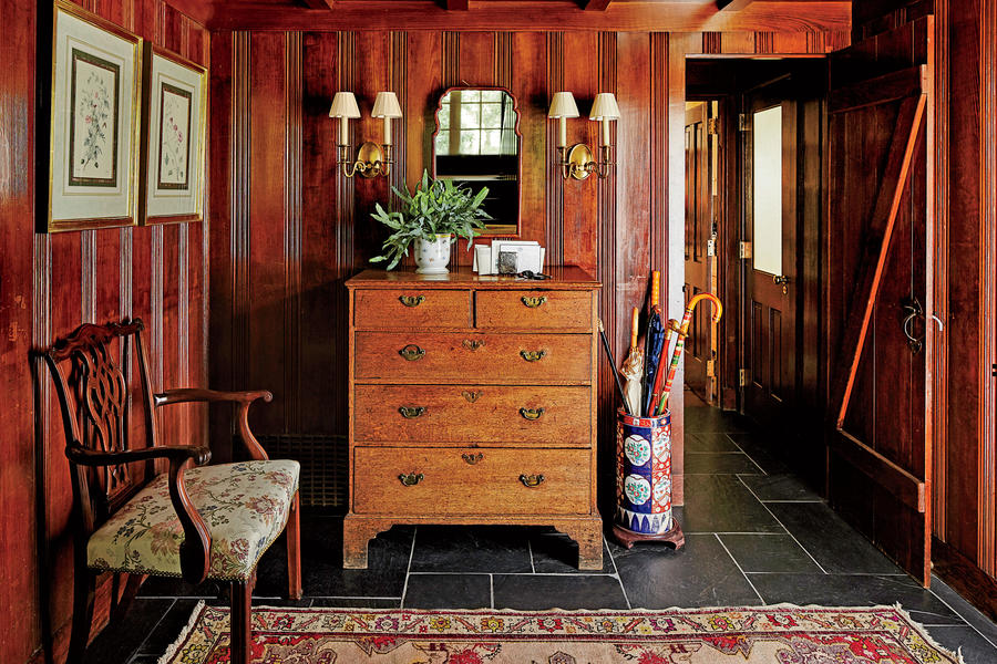 Paneled Foyer