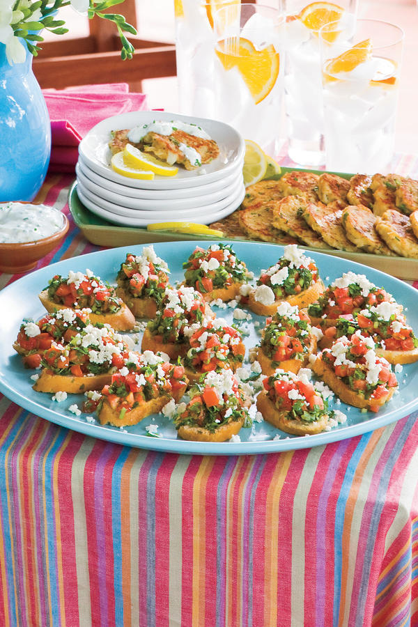Easy appetizer recipes for outdoor party