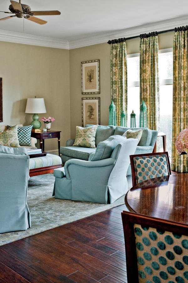 Repeat Prints - 106 Living Room Decorating Ideas - Southern Living