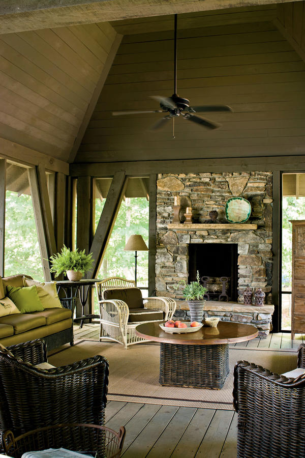 Choose Durable Seating - Lake House Decorating Ideas - Southern Living