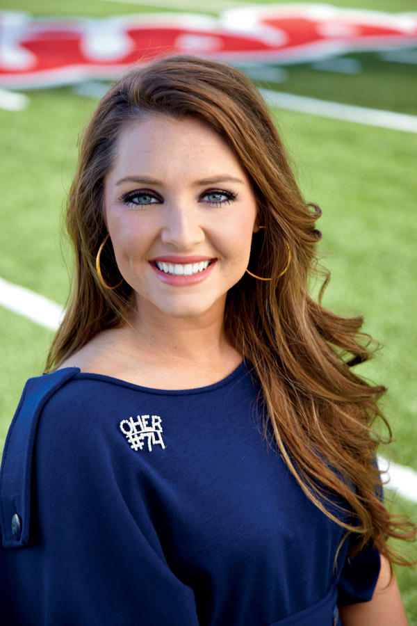 Pics For Gt Collins Tuohy Ole Miss Cheerleader