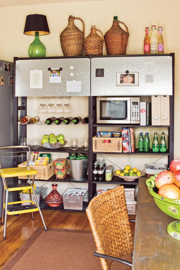 Open Pantry Shelves Organize Your Kitchen Southern Living