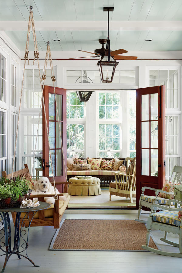 Enclosed Porch - Porch and Patio Design Inspiration - Southern Living