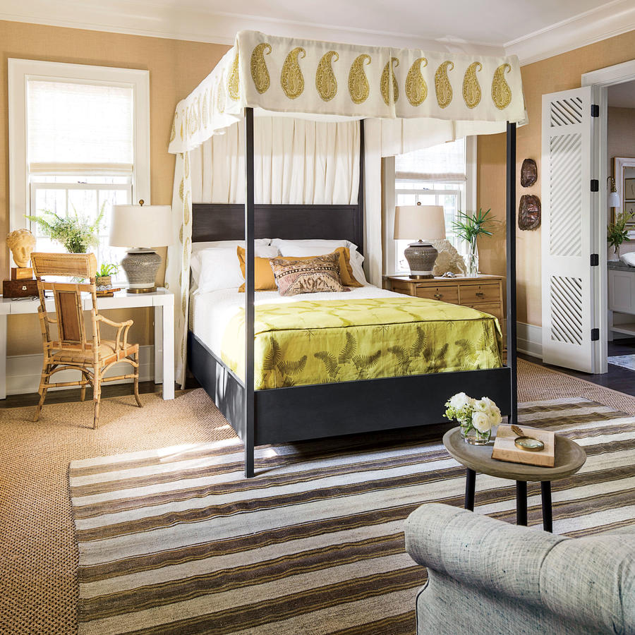 Southern Bedroom The Master Bedroom The 2016 Idea House Southern Living