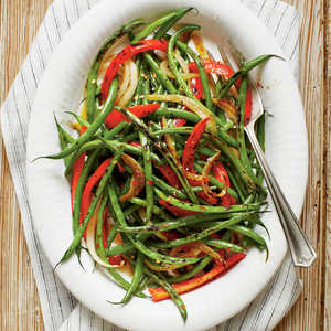 Caramelized Spicy Green Bean Recipe