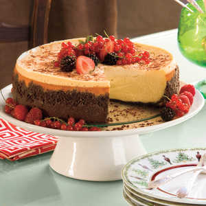 Brandy Alexander Cheesecake Recipe
