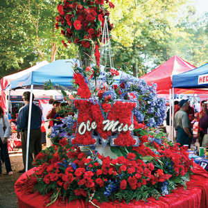 Tailgating at Ole Miss
