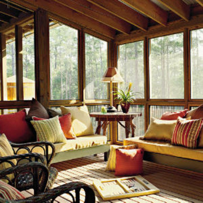Porches And Patios Screened Family Porch Porch And