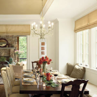dining room banquette ideas | Build a Banquette