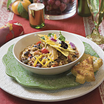Smoky Chicken Chili Recipes - Hearty Chili Recipes - Southern Living