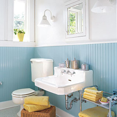 guest bathroom decorating ideas provide ample lighting comfortable