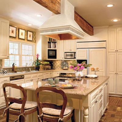Best kitchen remodel for outdated lighting after photo for Best kitchen remodels